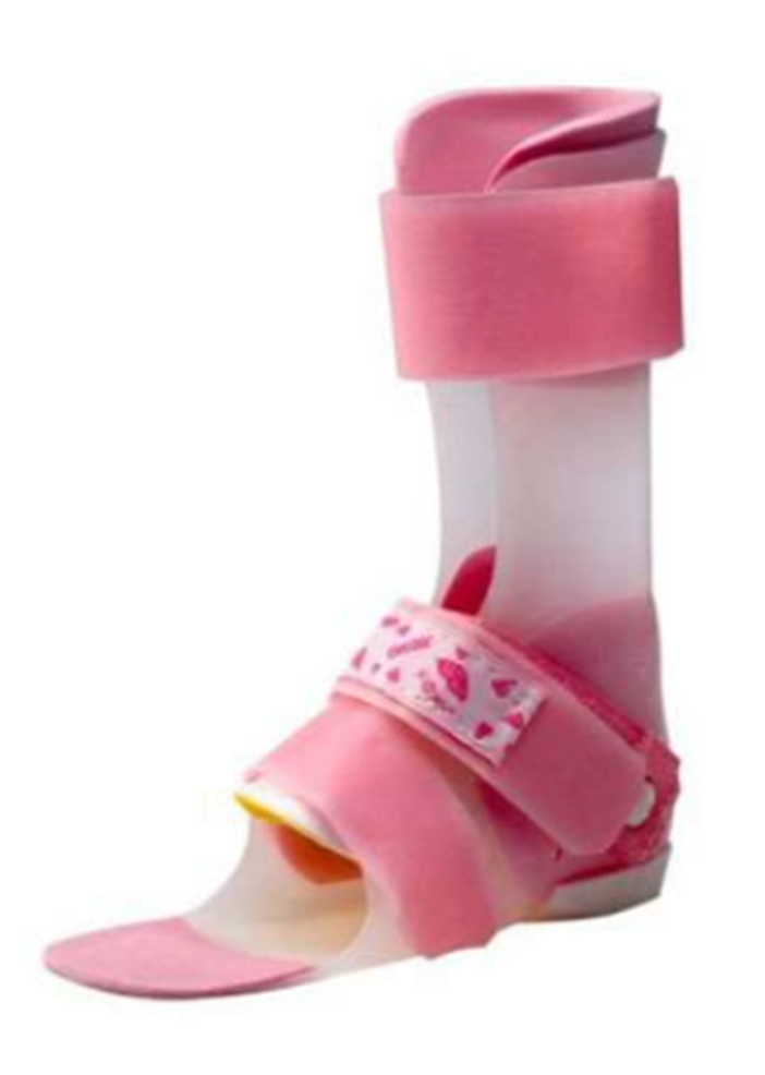 This is a photo of a Cascade Dynamic Ankle Foot Orthosis