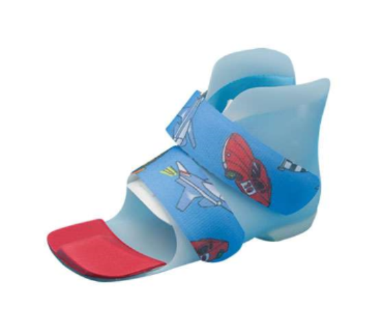 This is photo of a Surestap orthotic for children.