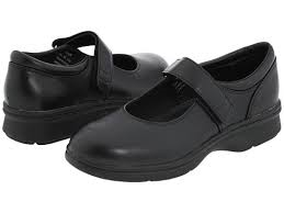 This is a photo of a ladies diabetic shoe.