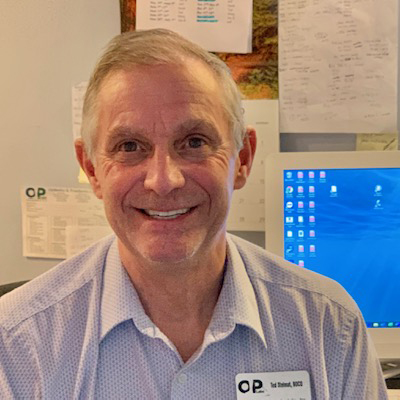This is a photo of Ted Stelmat, Clinical Director of the O&P Labs Northampton Office.